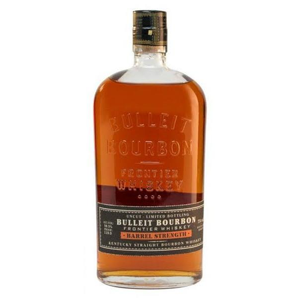 Bulleit Barrel Strength Kentucky Straight Bourbon Whiskey - Grain & Vine | Curated Wines, Rare Bourbon and Tequila Collection