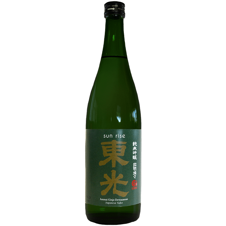 Toko Brewery Sun Rise Dewasansan Junmai Ginjo Sake - Grain & Vine | Curated Wines, Rare Bourbon and Tequila Collection