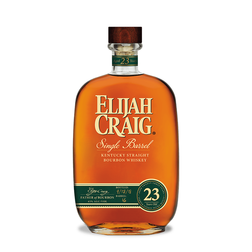 Elijah Craig  23 Year Single Barrel Kentucky Straight Bourbon Whiskey - Grain & Vine | Curated Wines, Rare Bourbon and Tequila Collection
