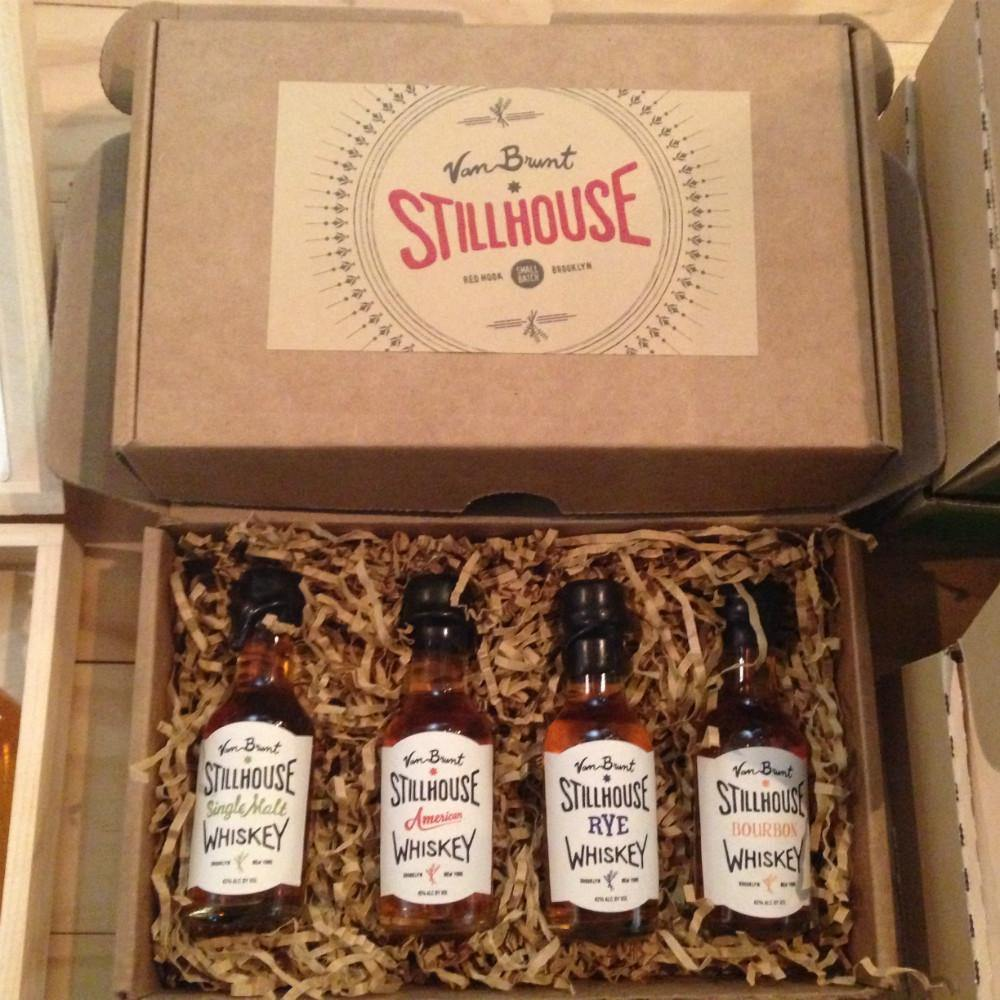 Van Brunt Stillhouse Whiskey 4 Pack 50ml Gift Set - Grain & Vine | Curated Wines, Rare Bourbon and Tequila Collection