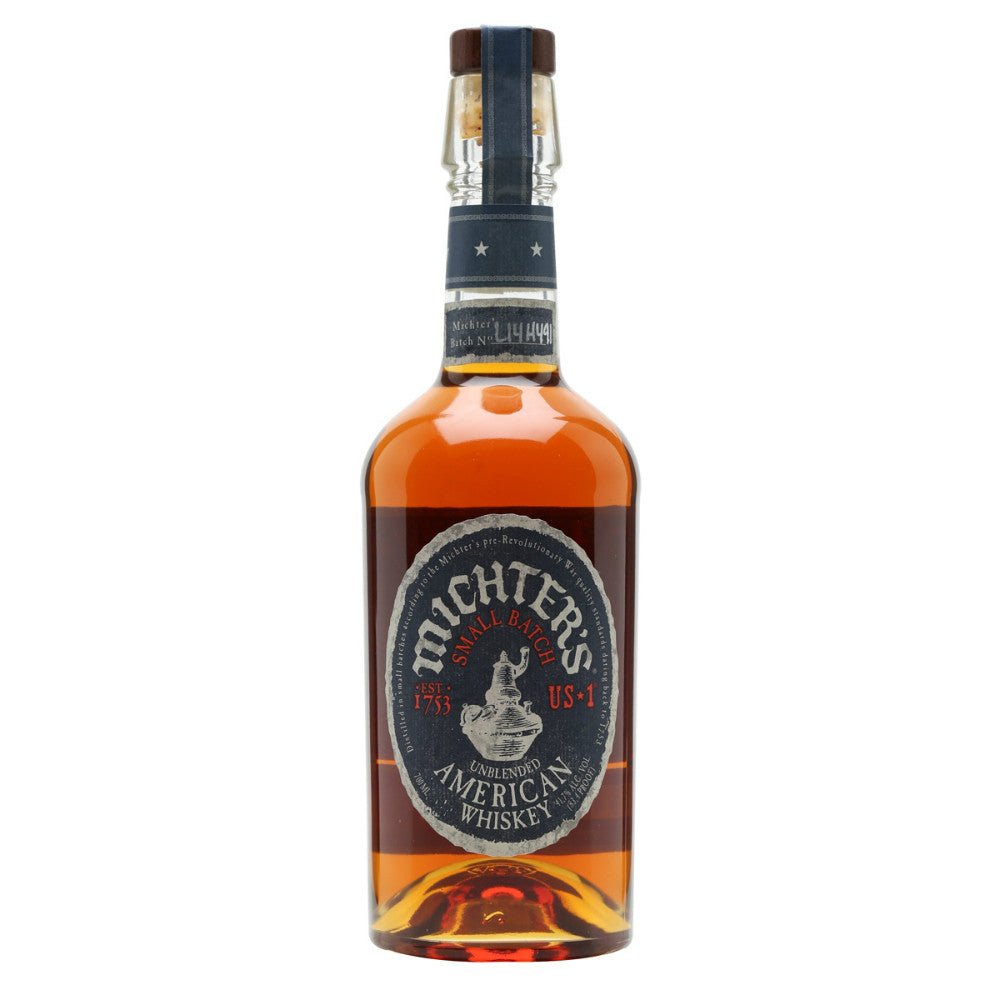 Michters US1 Unblended American Whiskey - Grain & Vine | Curated Wines, Rare Bourbon and Tequila Collection