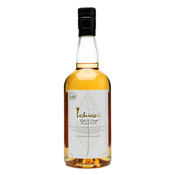 Chichibu Distillery Ichiro's Malt & Grain Blended Whisky - Grain & Vine | Curated Wines, Rare Bourbon and Tequila Collection