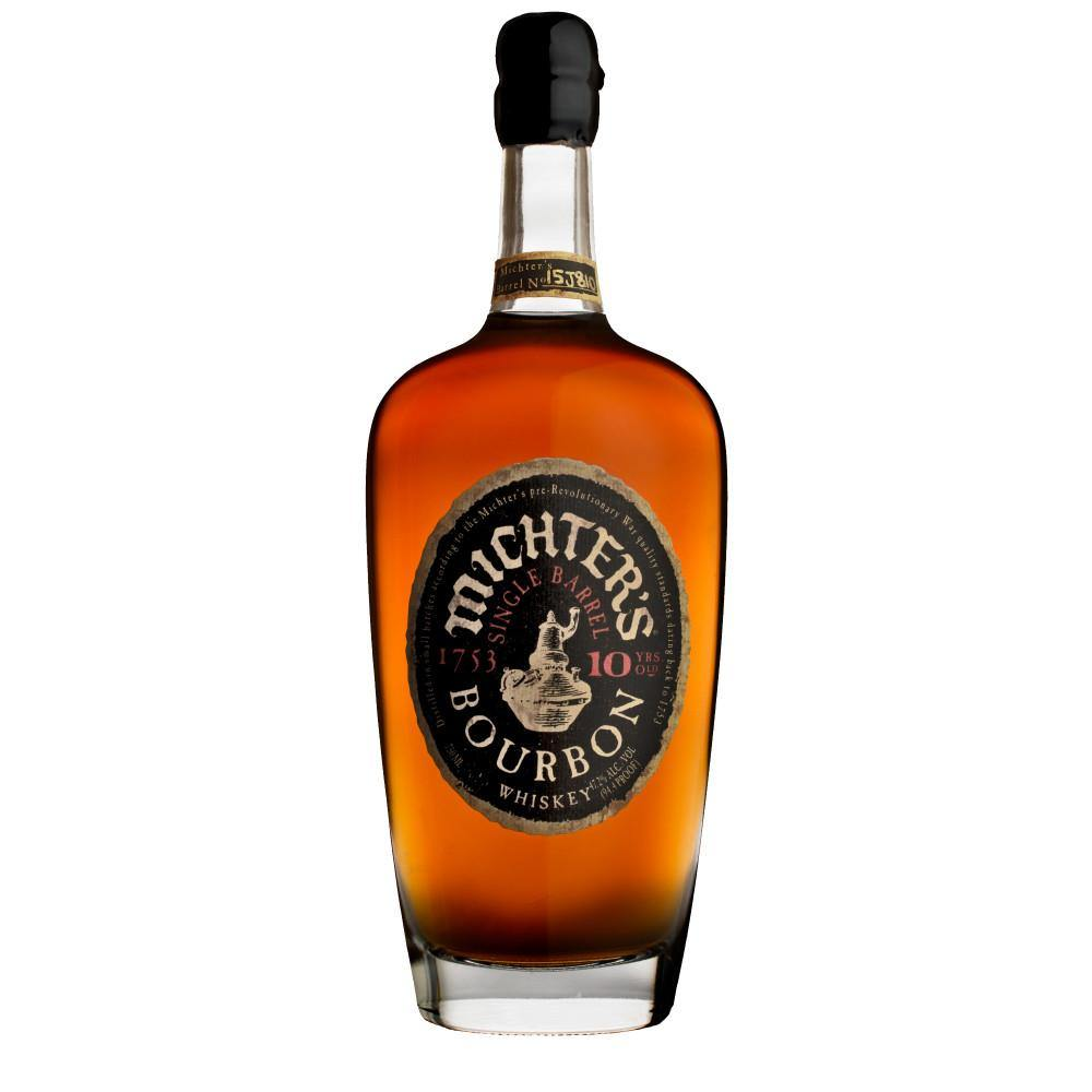 Michter's 10 Years Old Single Barrel Kentucky Straight Bourbon Whiskey - Grain &Vine | Curated Wines, Rare Bourbon and Tequila Collection