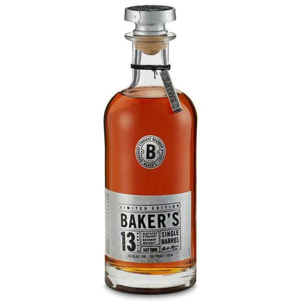 Baker's 13 Year Single Barrel Kentucky Straight Bourbon Whiskey - Grain & Vine | Curated Wines, Rare Bourbon and Tequila Collection