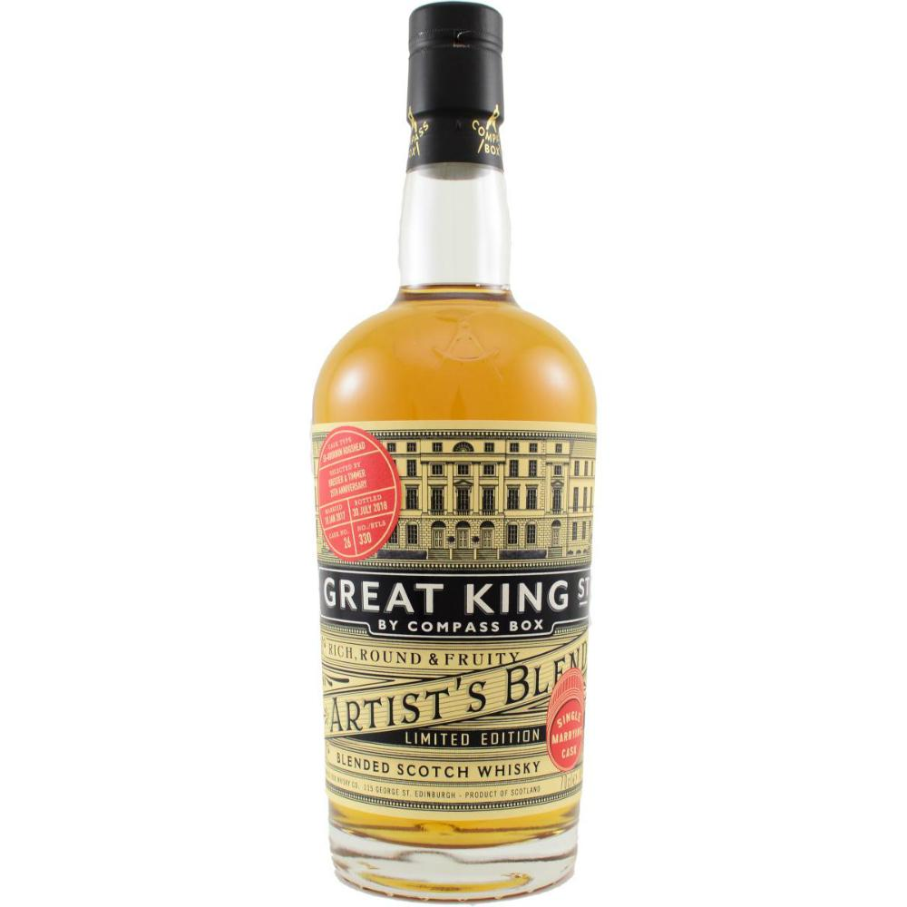 Compass Box 'Great King Street' Marrying Cask Finish Blended Scotch Whisky - Grain & Vine | Curated Wines, Rare Bourbon and Tequila Collection