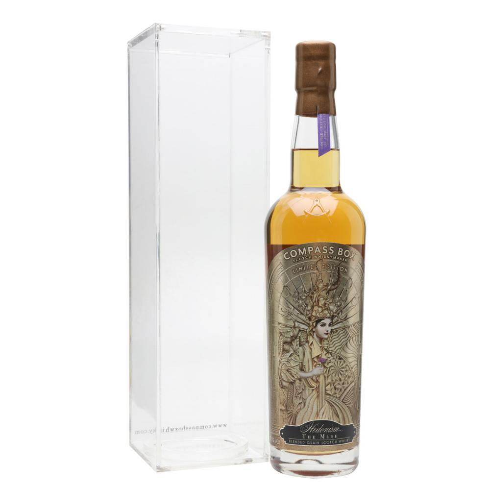 Compass Box Hedonism The Muse Blended Grain Scotch Whisky - Grain & Vine | Curated Wines, Rare Bourbon and Tequila Collection