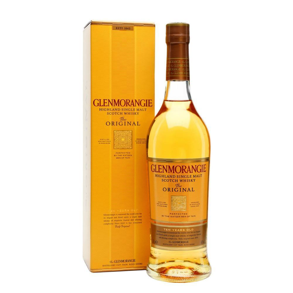 Glenmorangie The Original 10 Years Old Highland Single Malt Scotch Whisky - Grain & Vine | Curated Wines, Rare Bourbon and Tequila Collection