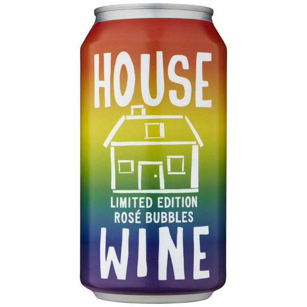 House Wine Limited Edition Rose Bubbles Rainbow - Grain & Vine | Curated Wines, Rare Bourbon and Tequila Collection