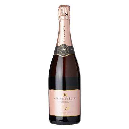 Raventós i Blanc Conca del Riu Anoia Brut Rosé de Nit - Grain & Vine | Curated Wines, Rare Bourbon and Tequila Collection