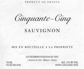Cinquante-Cinq Sauvignon Blanc - Grain & Vine | Curated Wines, Rare Bourbon and Tequila Collection
