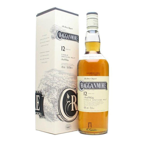 Cragganmore 12 Years Old Speyside Single Malt Scotch Whisky - Grain & Vine | Curated Wines, Rare Bourbon and Tequila Collection