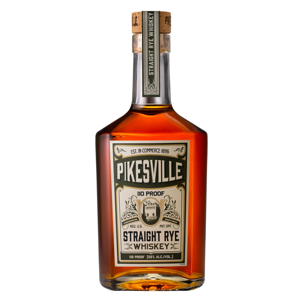 Pikesville Straight Rye Whiskey - Grain & Vine | Curated Wines, Rare Bourbon and Tequila Collection
