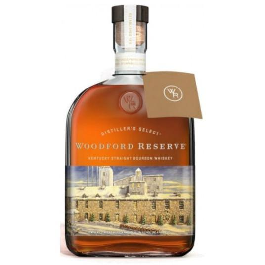 Woodford Reserve Kentucky Straight Bourbon Whiskey 2018 Holiday Edition