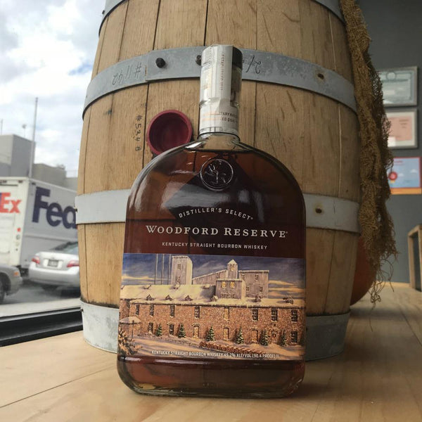 Woodford Reserve Kentucky Straight Bourbon Whiskey  2017 Holiday Edition - Grain & Vine | Curated Wines, Rare Bourbon and Tequila Collection