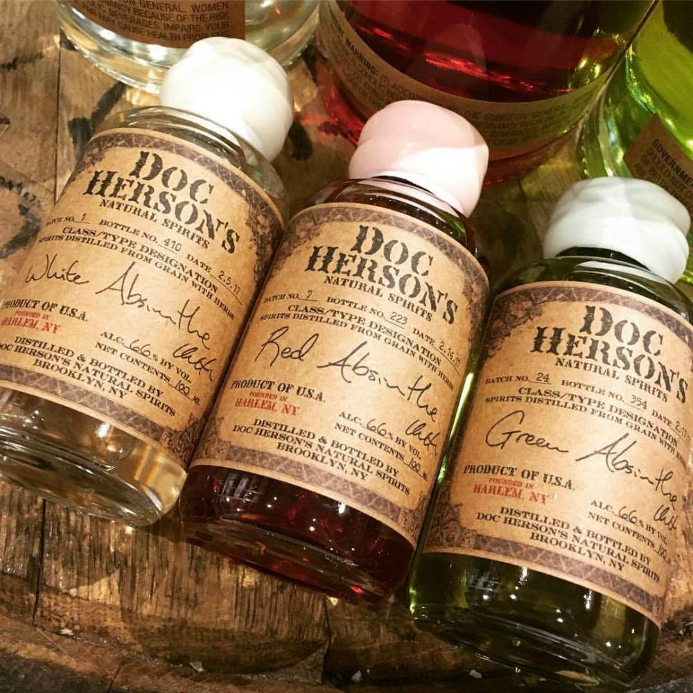 Doc Herson's Natural Spirits Absinthe Gift Set - Grain & Vine | Curated Wines, Rare Bourbon and Tequila Collection