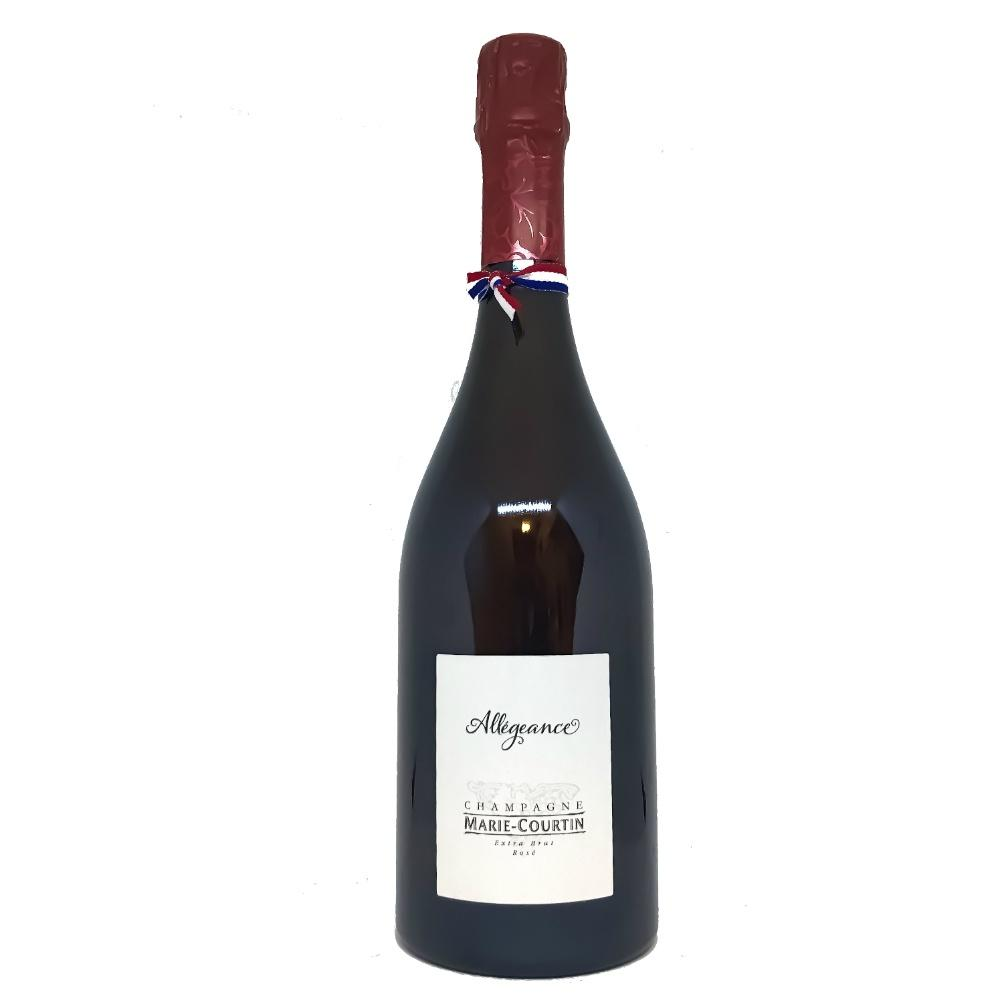 Marie Courtin Allegeance Rose Extra Brut Champagne - Grain & Vine | Curated Wines, Rare Bourbon and Tequila Collection