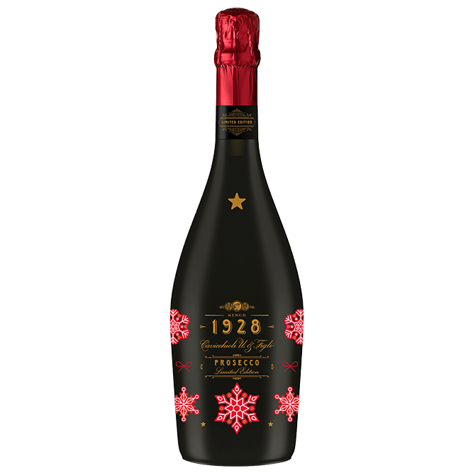 "Cavicchioli 1928 ""Holiday"" Limited Edition DOC Spumante Extra Dry Prosecco - Grain & Vine 