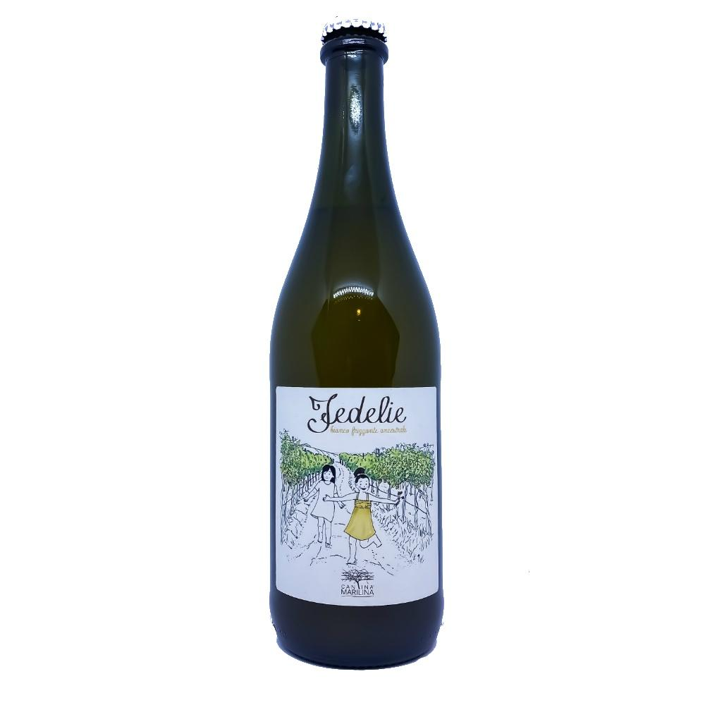 Cantina Marilina Terre Siciliane Fedelie Bianco Frizzante - Grain & Vine | Curated Wines, Rare Bourbon and Tequila Collection
