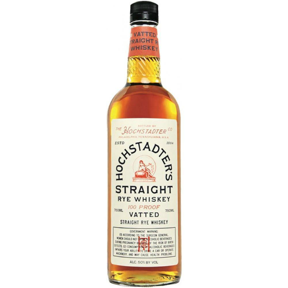 Hochstadter's Vatted Straight Rye Whiskey - Grain & Vine | Curated Wines, Rare Bourbon and Tequila Collection