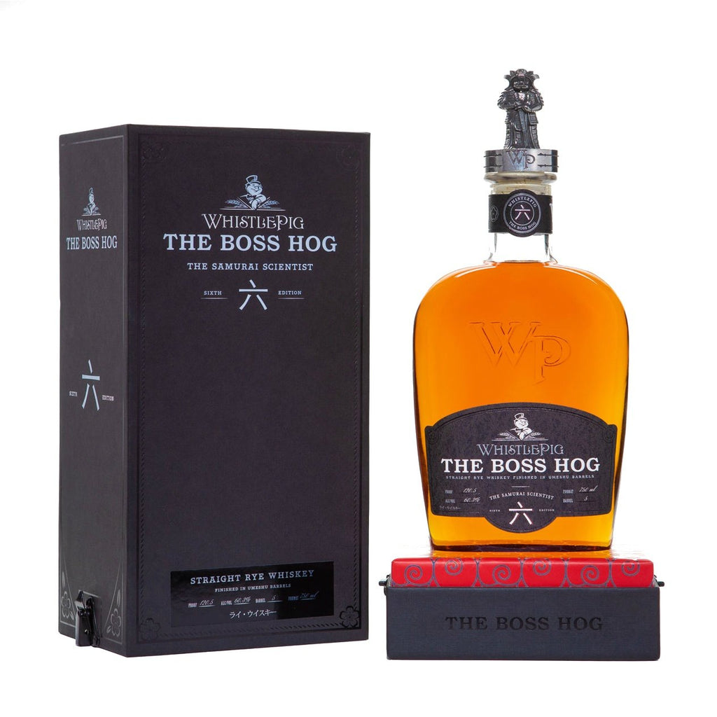 WhistlePig The Boss Hog The Samurai Scientist Single Barrel Rye Whiskey - Grain & Vine | Curated Wines, Rare Bourbon and Tequila Collection