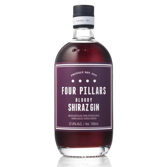 Four Pillars Bloody Shiraz Gin - Grain & Vine | Curated Wines, Rare Bourbon and Tequila Collection