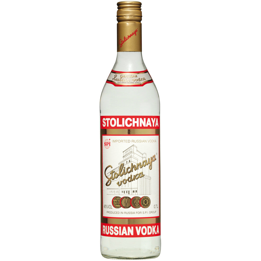 Stolichnaya Vodka - Grain & Vine | Curated Wines, Rare Bourbon and Tequila Collection