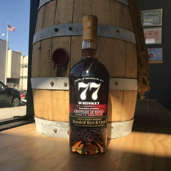 Breuckelen 77 Whiskey Bonded Rye & Corn - Grain & Vine | Curated Wines, Rare Bourbon and Tequila Collection