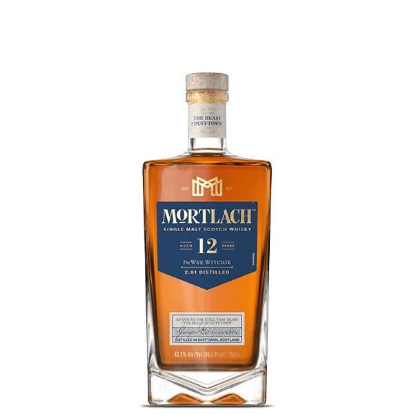 "Mortlach  ""The Wee Witchie"" 12 Years Sinlge Malt Scotch Whisky"