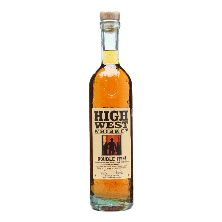 High West Double Rye Straight Whiskey - Grain & Vine | Curated Wines, Rare Bourbon and Tequila Collection