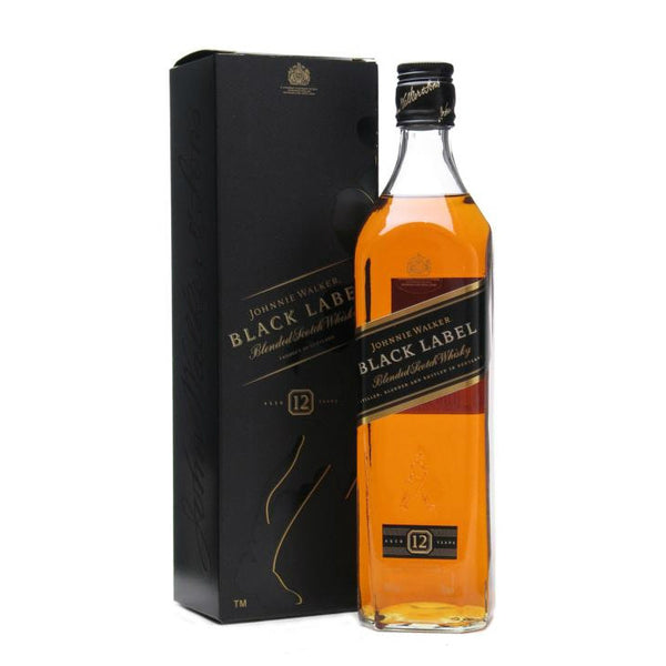 Johnnie Walker Black Label 12 Year Old Scotch Whisky - Grain &Vine | Curated Wines, Rare Bourbon and Tequila Collection