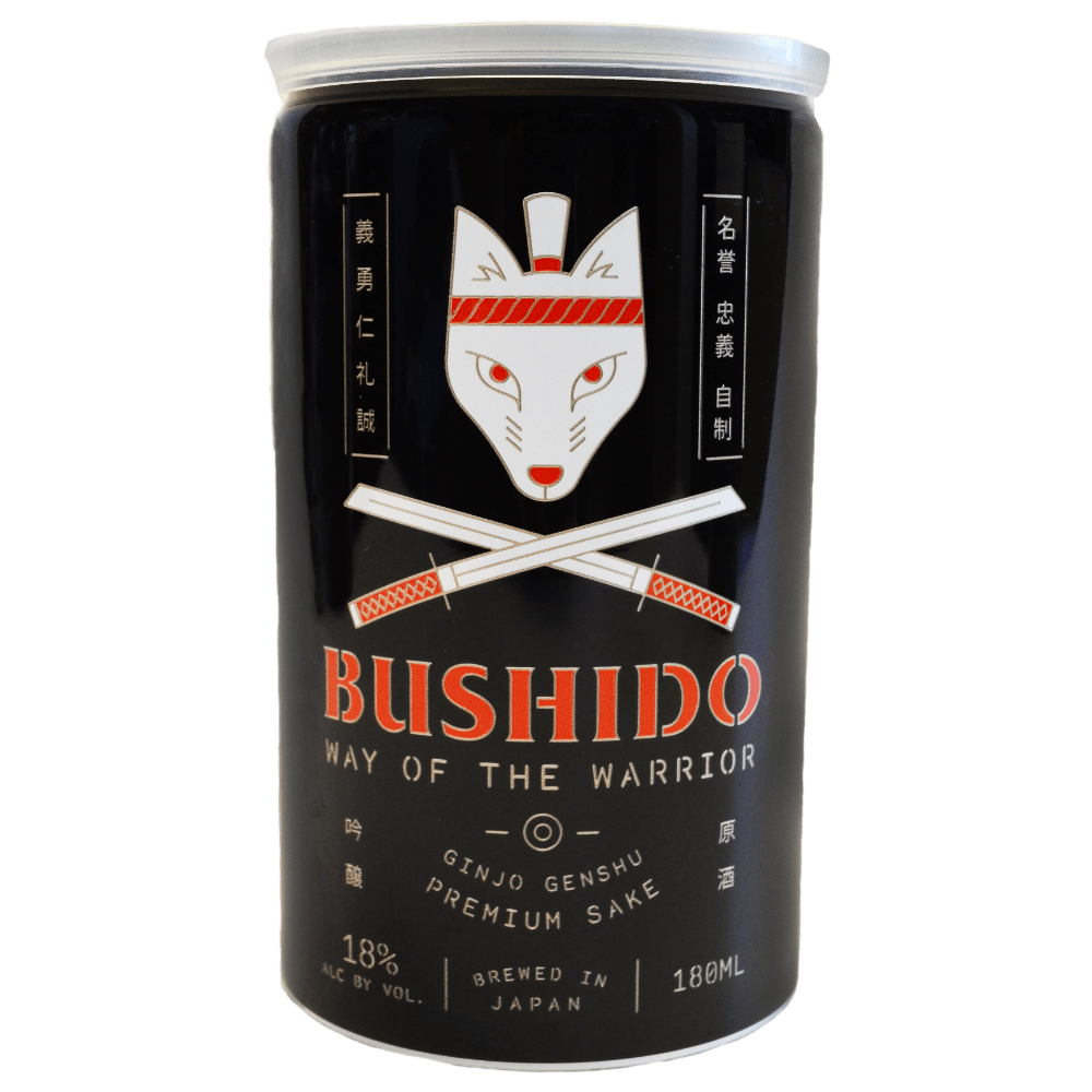 Bushido Way of the Warrior Ginjo Genshu Sake - Grain & Vine | Curated Wines, Rare Bourbon and Tequila Collection
