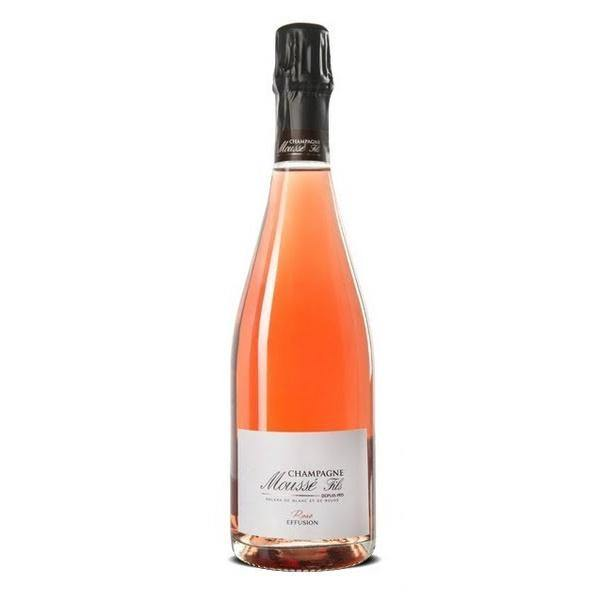 Mousse Fils Effusion Rose Brut Champagne - Grain & Vine | Curated Wines, Rare Bourbon and Tequila Collection