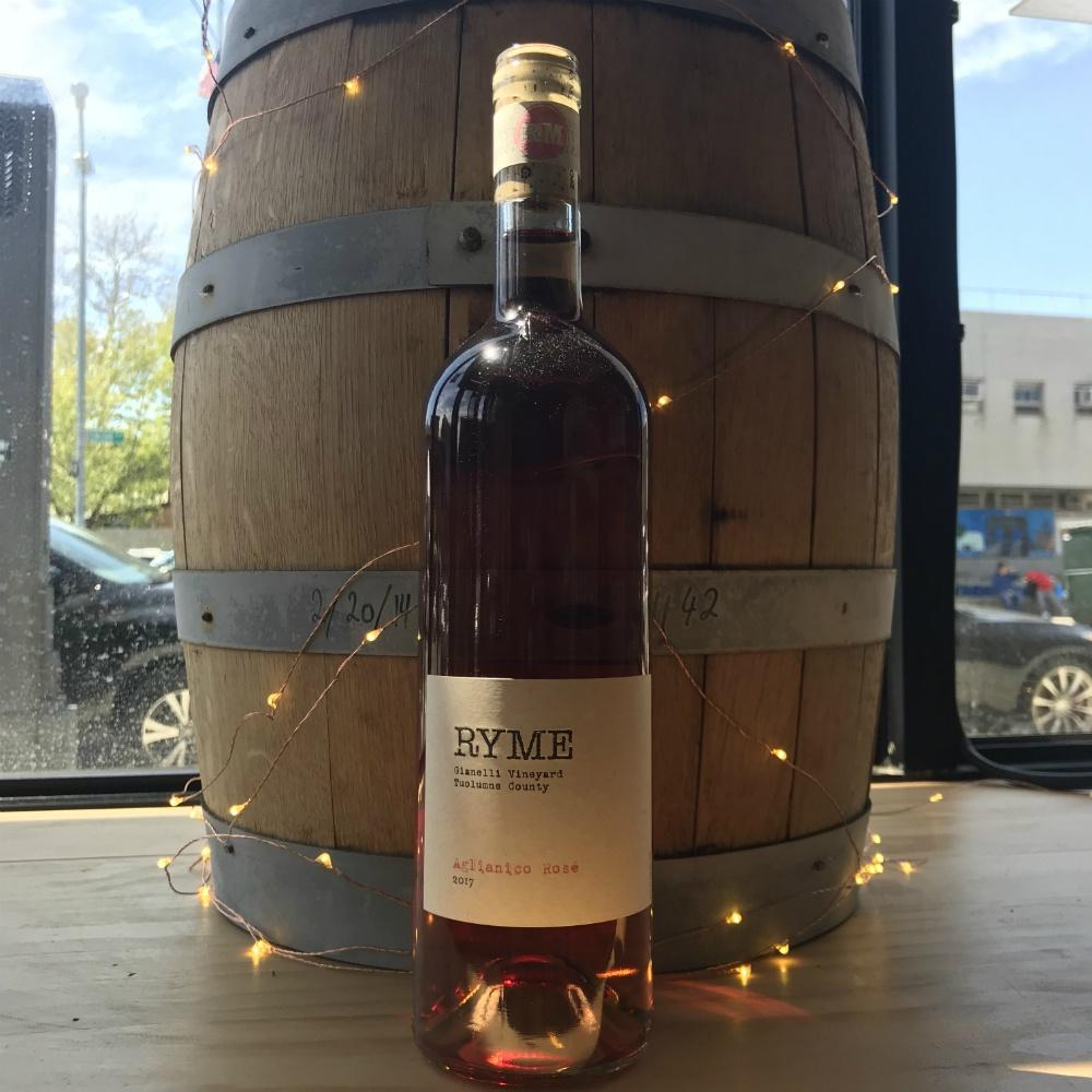 Ryme Cellars Gianelli Vineyard Aglianico Rose - Grain & Vine | Curated Wines, Rare Bourbon and Tequila Collection