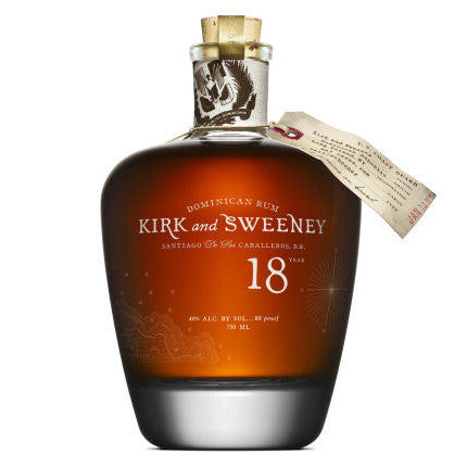Kirk & Sweeney 18 Year Old Dominican Rum - Grain & Vine | Curated Wines, Rare Bourbon and Tequila Collection