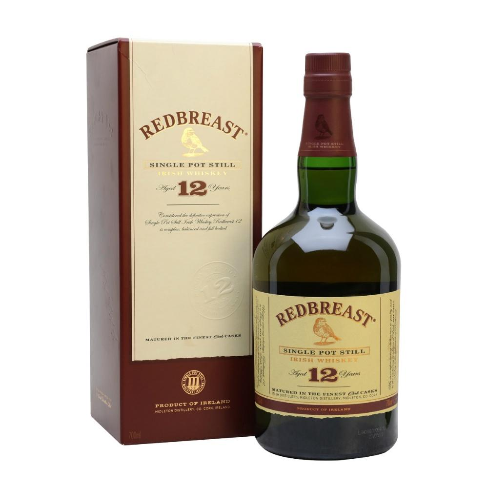 Redbreast 12 Years Single Pot Still Irish Whiskey - Grain & Vine | Curated Wines, Rare Bourbon and Tequila Collection