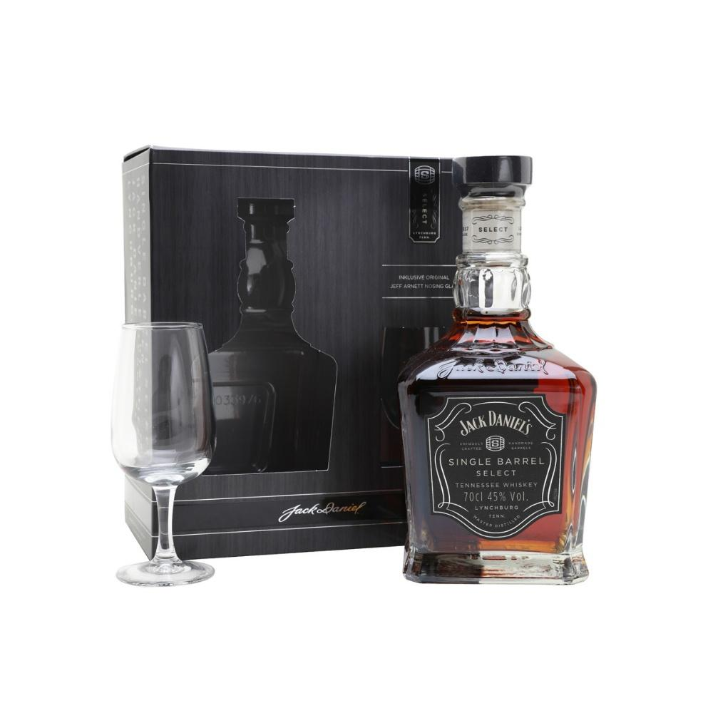 Jack Daniel's Single Barrel Select Tennessee Whiskey Gift Set – Grain & Vine | Curated Wines, Rare Bourbon and Tequila Collection