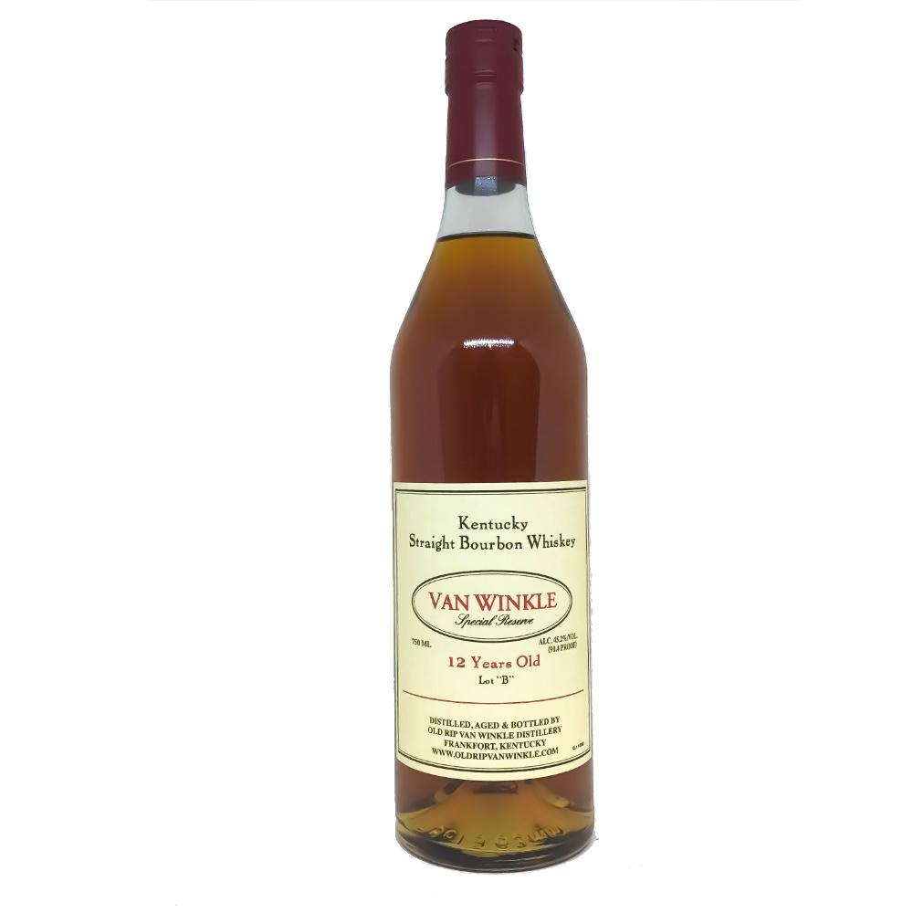 Old Rip Van Winkle 12 Years Special Reserve Lot B Kentucky Straight Bourbon Whiskey - Grain & Vine | Curated Wines, Rare Bourbon and Tequila Collection