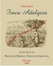 Finca Adalgisa Lujan de Cuyo Malbec - Grain & Vine | Curated Wines, Rare Bourbon and Tequila Collection