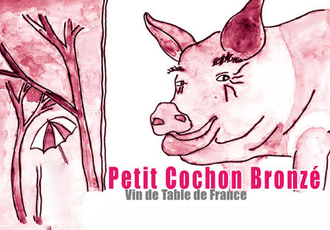 Jean-Marie Rimbert Petit Cochon Bronze Rose - Grain & Vine | Curated Wines, Rare Bourbon and Tequila Collection