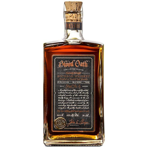 Blood Oath Pact No.4 Kentucky Straight Bourbon Whiskey - Grain & Vine | Curated Wines, Rare Bourbon and Tequila Collection