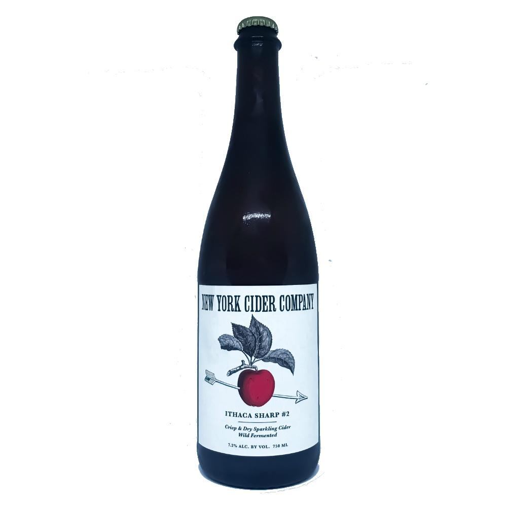 New York Cider Company  Ithaca Sharp #2 Crisp and Dry Sparkling Cider - Grain & Vine | Curated Wines, Rare Bourbon and Tequila Collection