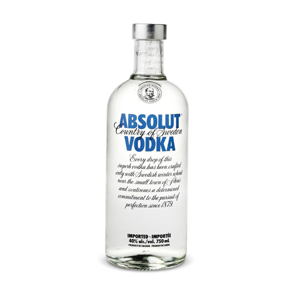 Absolut Vodka - Grain & Vine | Curated Wines, Rare Bourbon and Tequila Collection