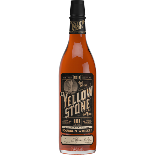 Yellowstone Aged 7 Years Kentucky Straight Bourbon Whiskey 2016 Limited Edition - Grain & Vine | Curated Wines, Rare Bourbon and Tequila Collection