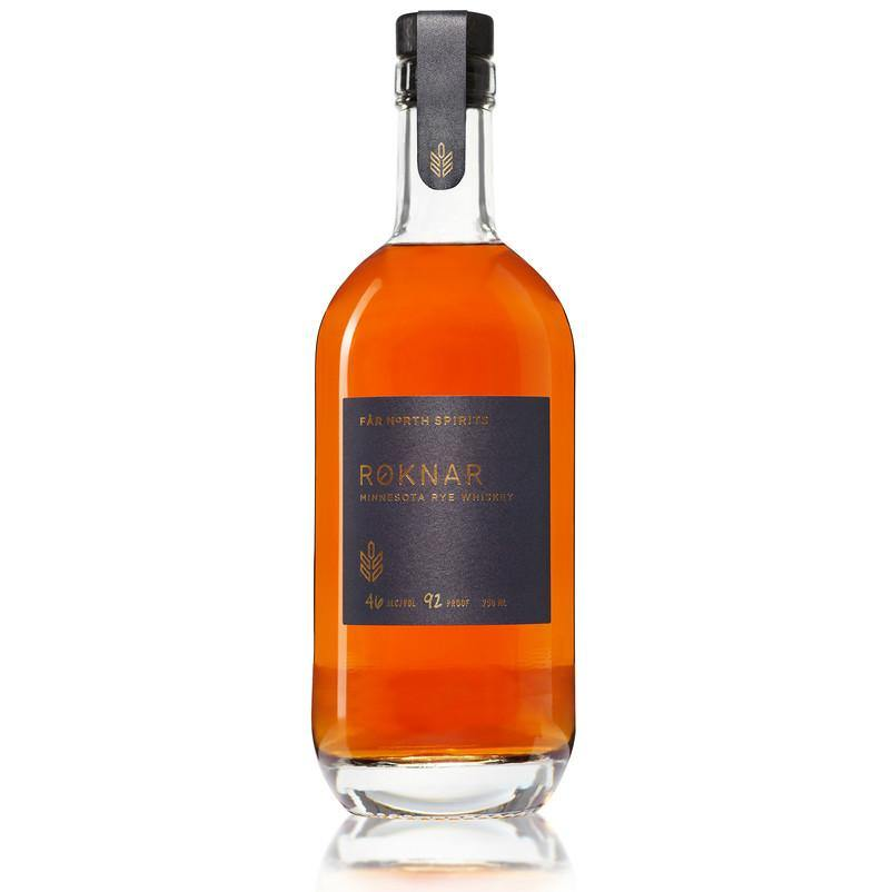 Far North Spirits Roknar Minnesota Rye Whiskey - Grain & Vine | Curated Wines, Rare Bourbon and Tequila Collection