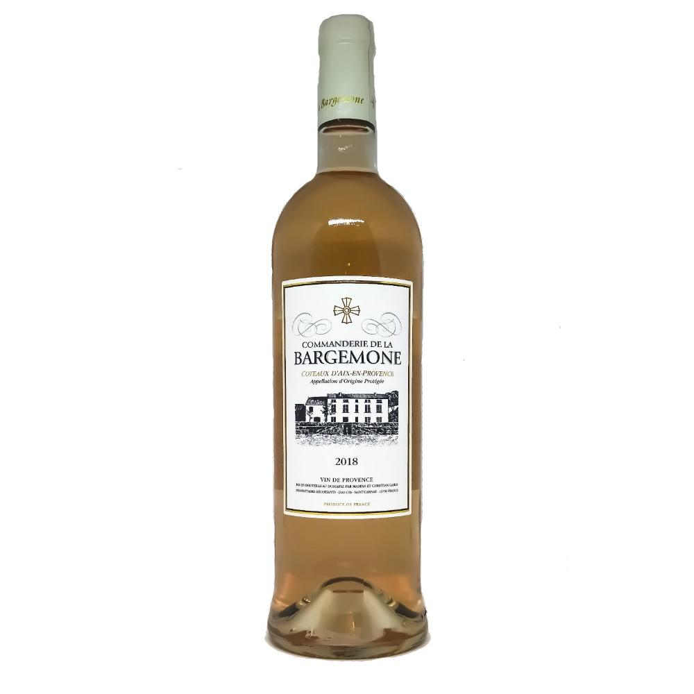 Commanderie de la Bargemone Coteaux d'Aix-en-Provence Rose - Grain & Vine | Curated Wines, Rare Bourbon and Tequila Collection