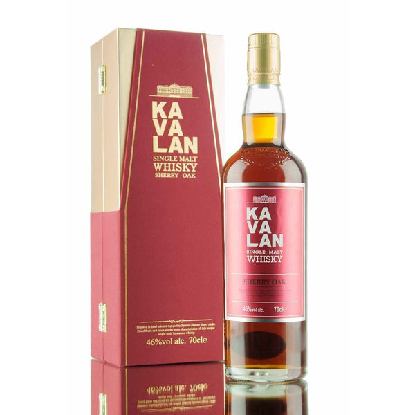 Kavalan Sherry Oak Single Malt Whisky - Grain & Vine | Curated Wines, Rare Bourbon and Tequila Collection