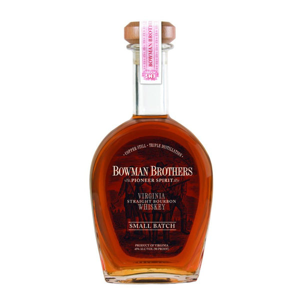 Bowman Brothers Small Batch Virginia Straight Bourbon Whiskey - Grain & Vine | Curated Wines, Rare Bourbon and Tequila Collection