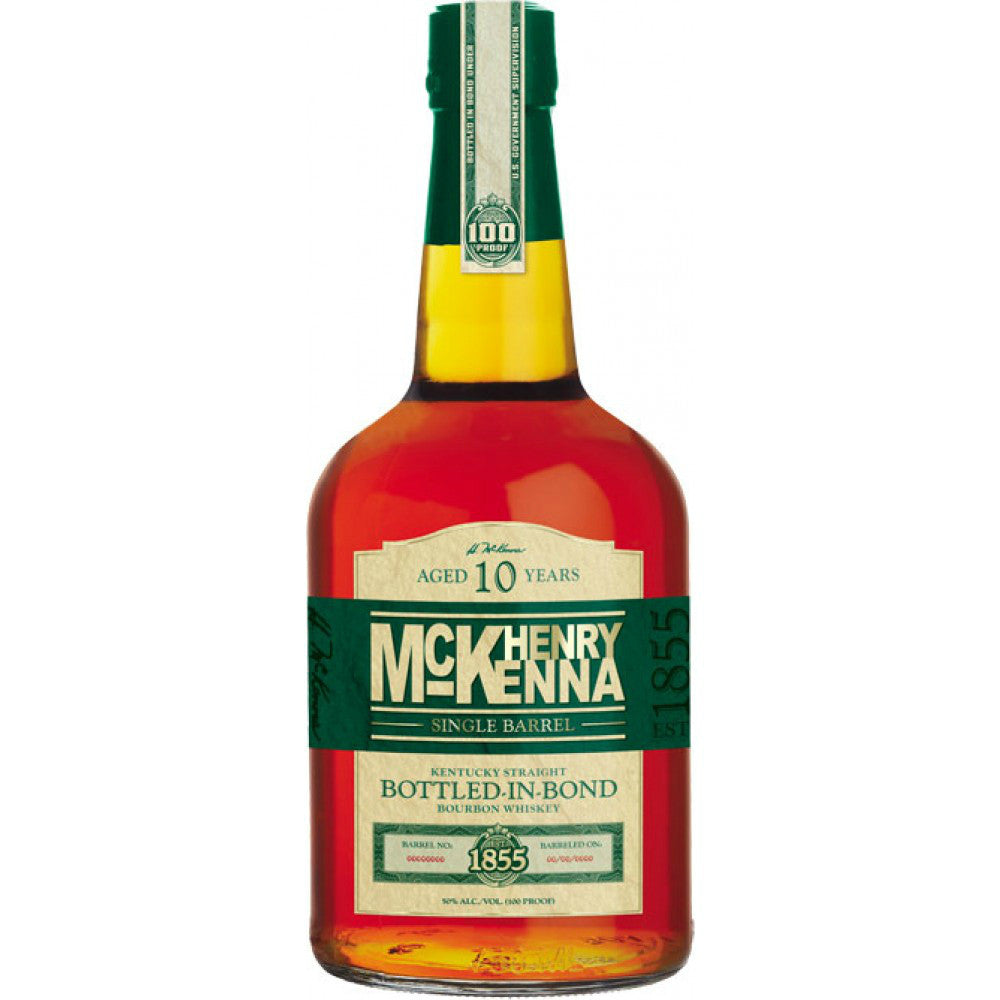 Henry Mckenna 10 Years Old Single Barrel Kentucky Straight Bourbon Whiskey - Grain & Vine | Curated Wines, Rare Bourbon and Tequila Collection