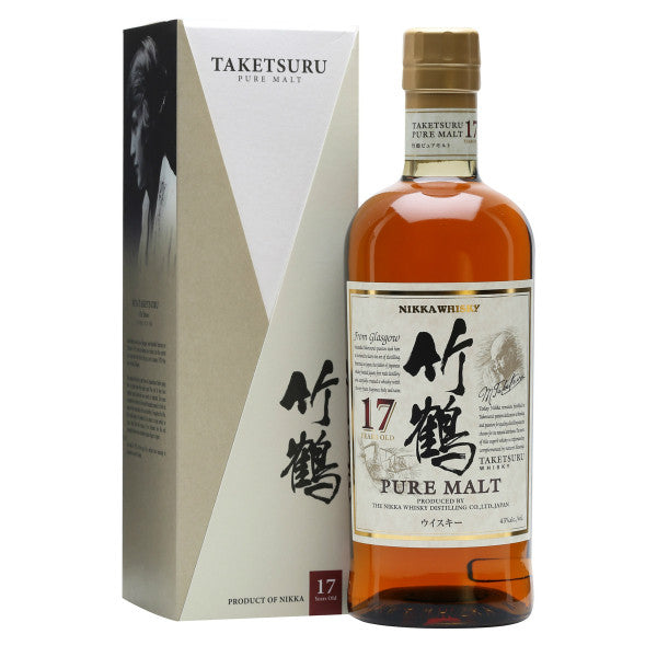 Nikka Taketsuru 17 Years Japanese Whisky - Grain & Vine | Curated Wines, Rare Bourbon and Tequila Collection