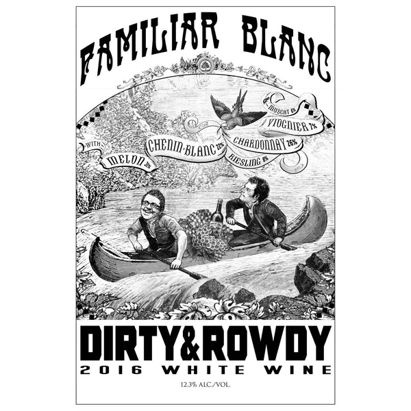 Dirty & Rowdy Familiar Blanc - Grain & Vine | Curated Wines, Rare Bourbon and Tequila Collection